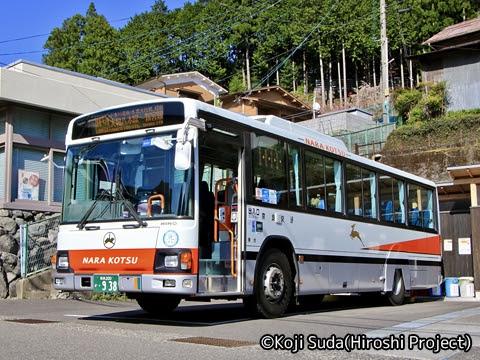 奈良交通「八木新宮線ツアー」 ・938 上野地にて_03