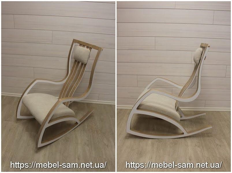 Кресло качалка - вид спереди