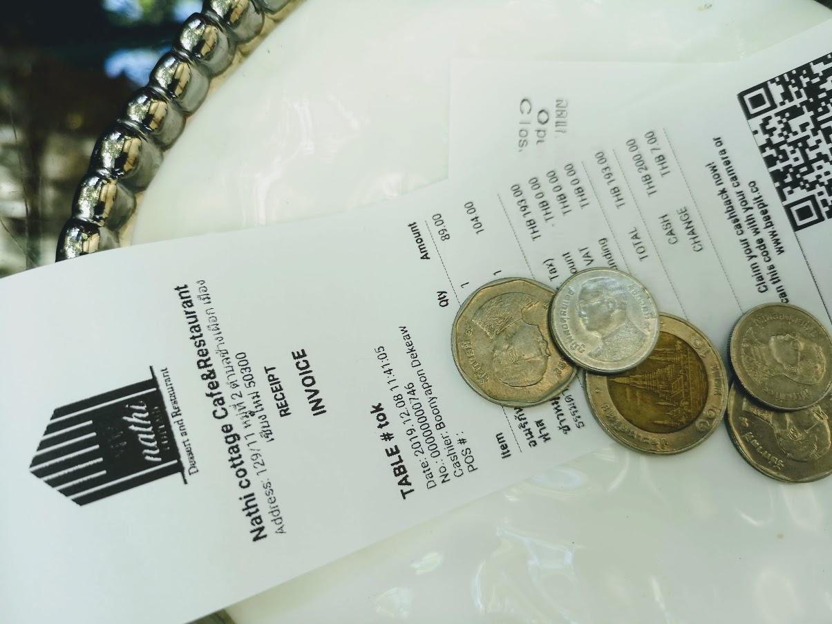monedas tailandia