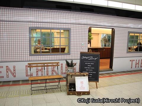 西鉄 6050形改造「THE RAIL KITCHEN CHIKUGO」 福岡(天神)にて_04