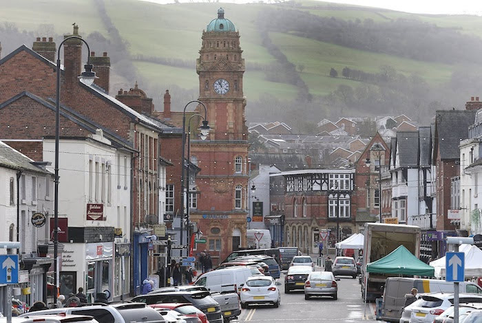 Newtown town centre named 10th worst in the UK