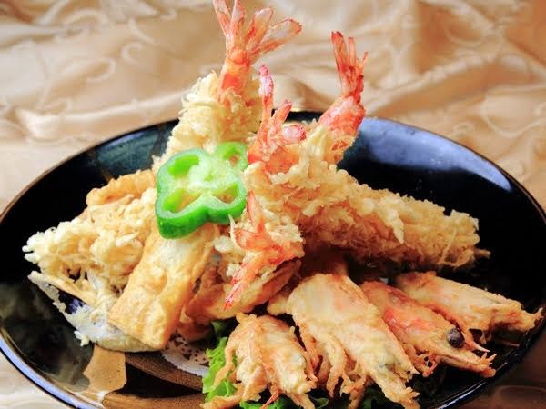 日式炸明蝦