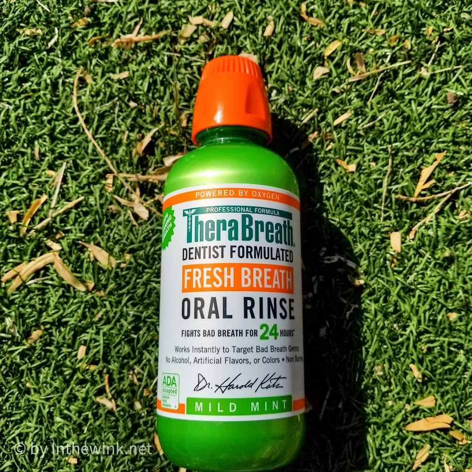 TheraBreath Fresh Breath Oral Rinse Mild Mint
