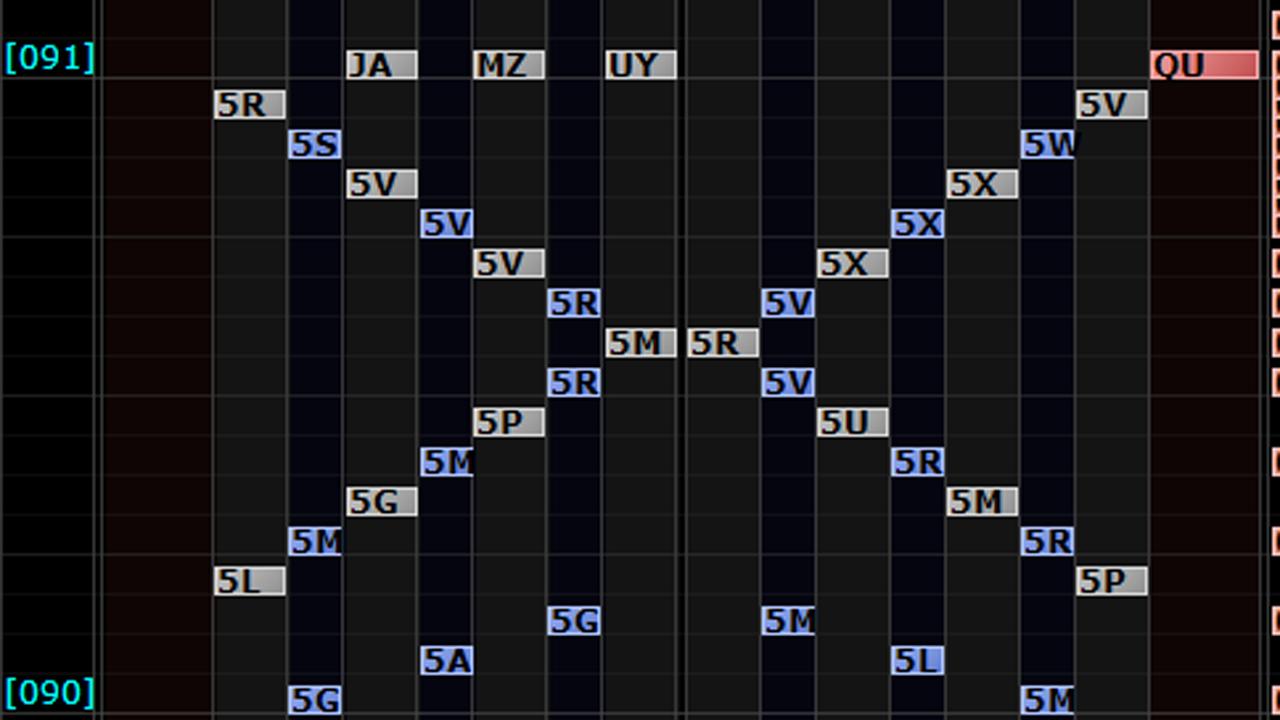 暑くてBMS出来なかったのでDP差分を作ってみた。