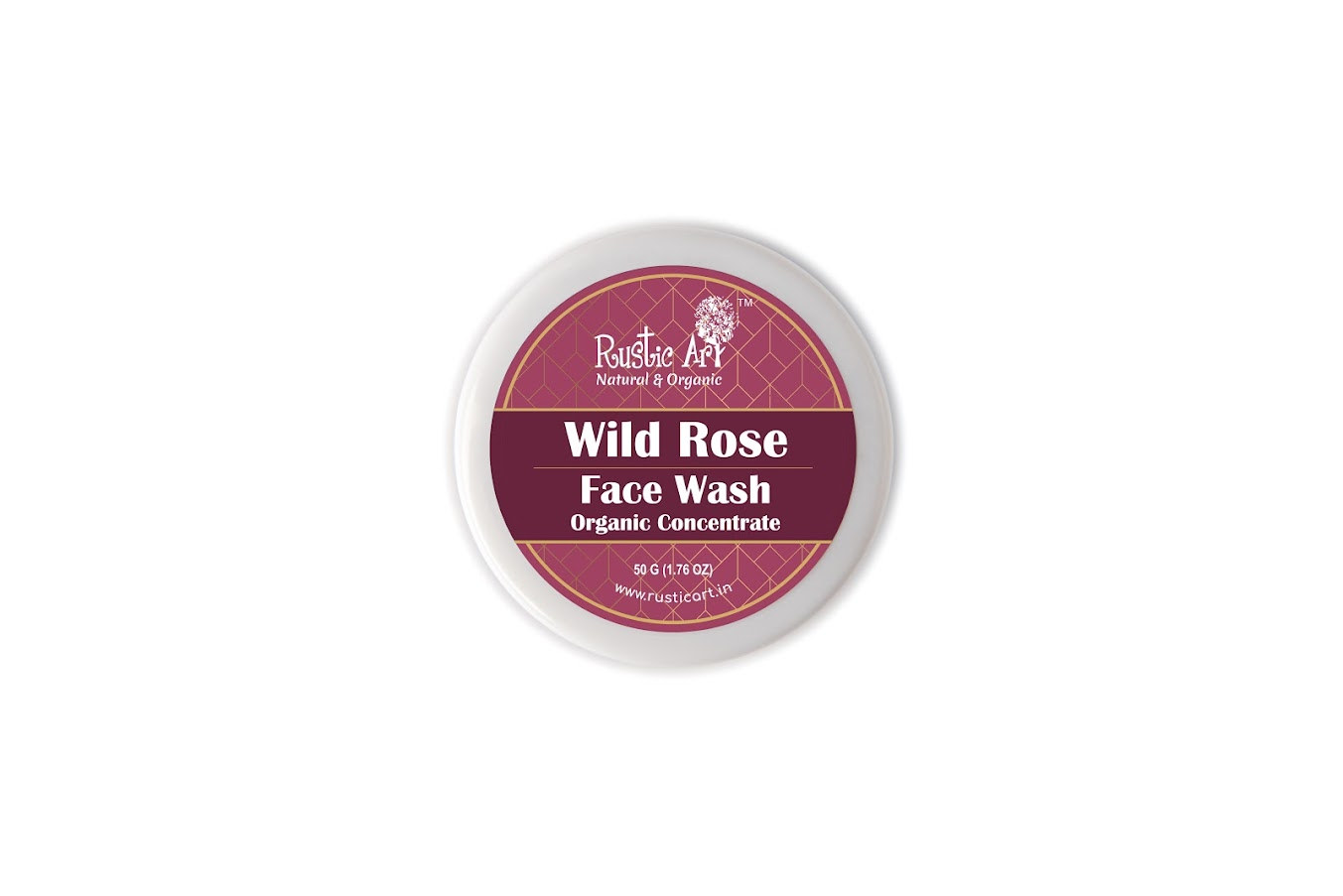 Rustic Art Organic Wild Rose Face Wash Concentrate