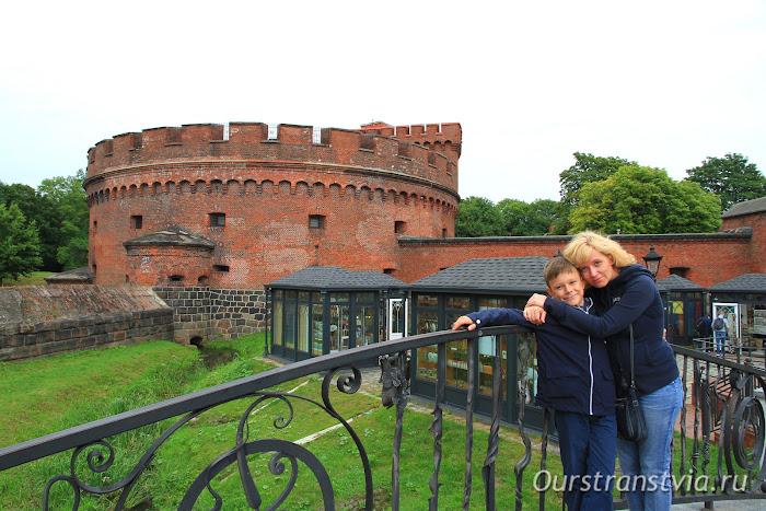 Калининградский Музей Янтаря в башне Дона