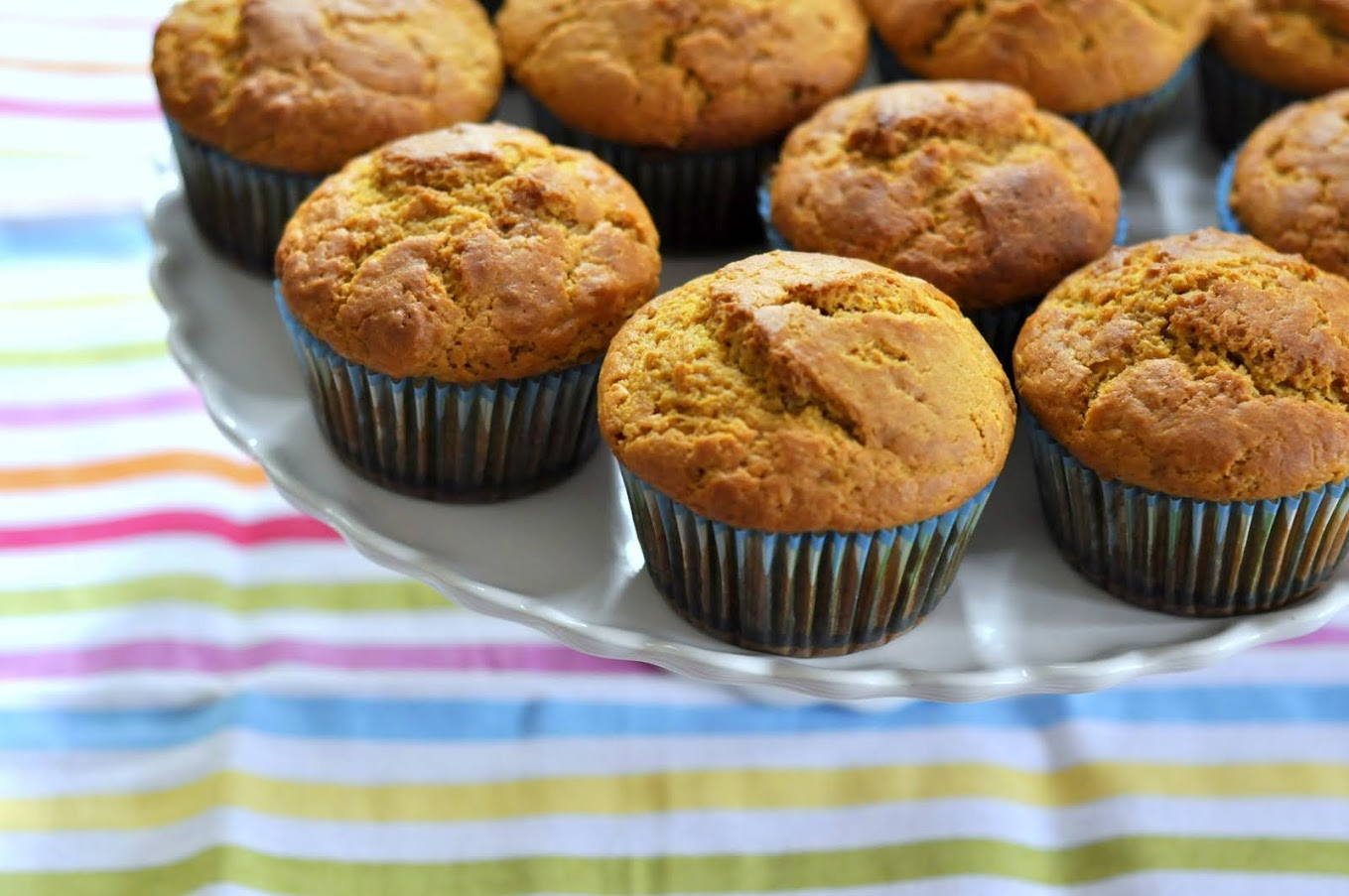 Ginger-Spiced Sweet Potato Muffins