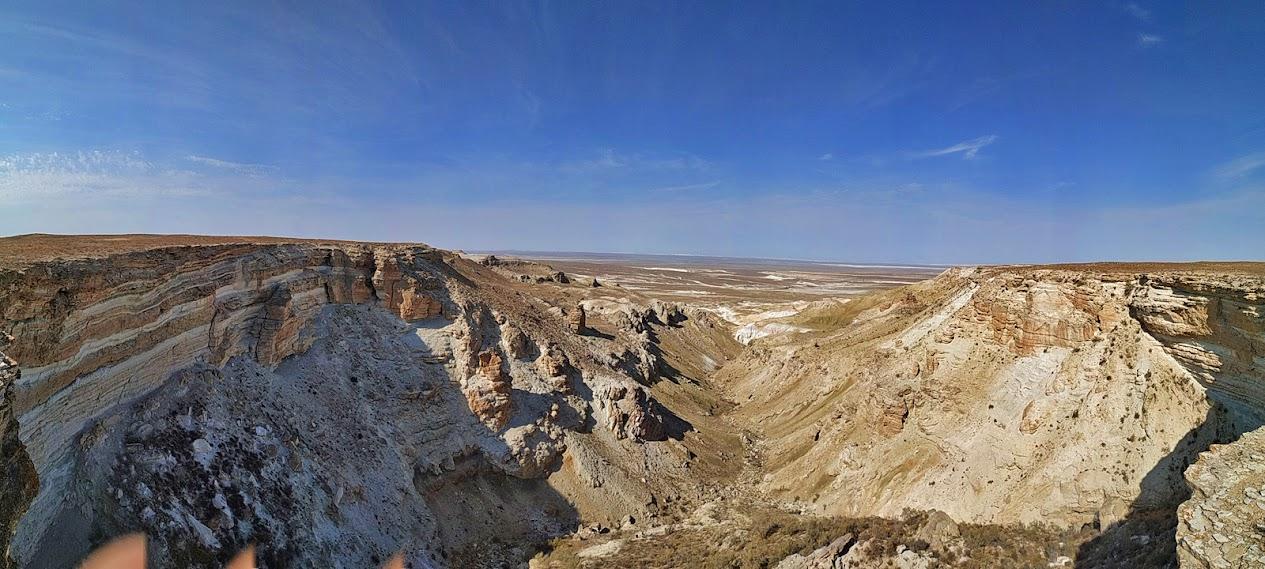 Устюрт - западный Казахстан