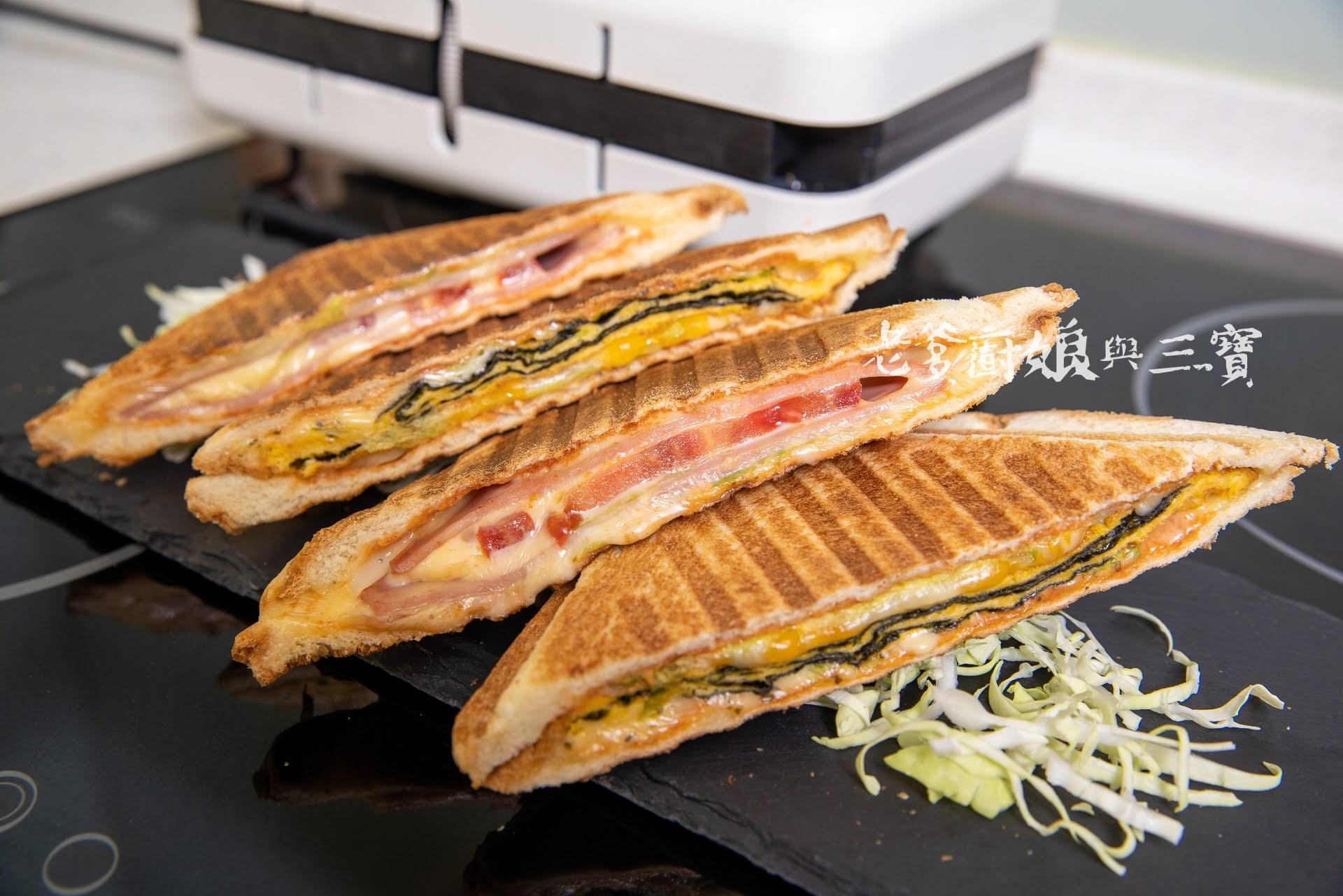 哇塞!濃濃無印風的ROOMMI煎烤熱壓三明治機,吃個三明治都文青了呢!