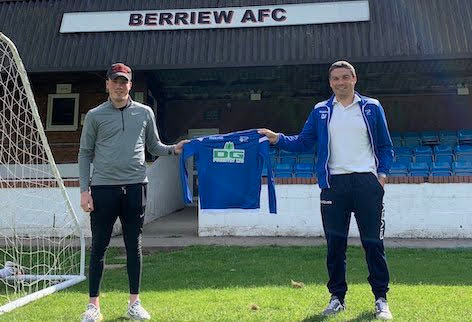 Berriew sign Town skipper