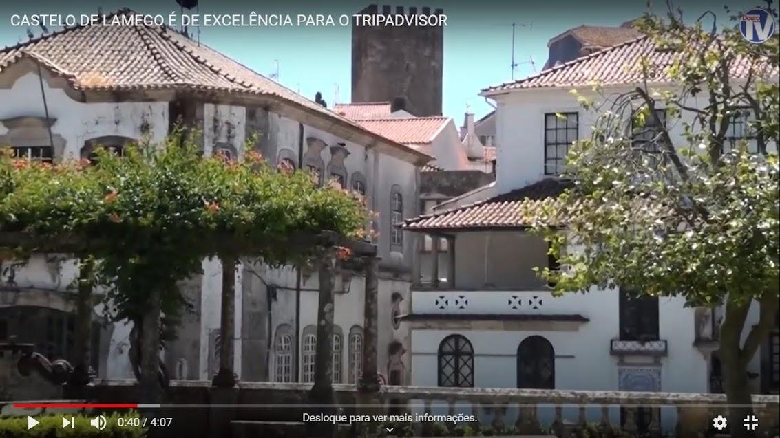 Vídeo - Castelo de Lamego é de excelência para o Tripadvisor