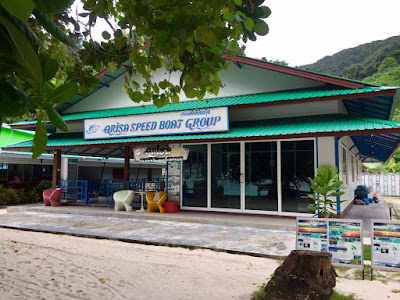 Check-in at Arisa Speed Boat Group Office
