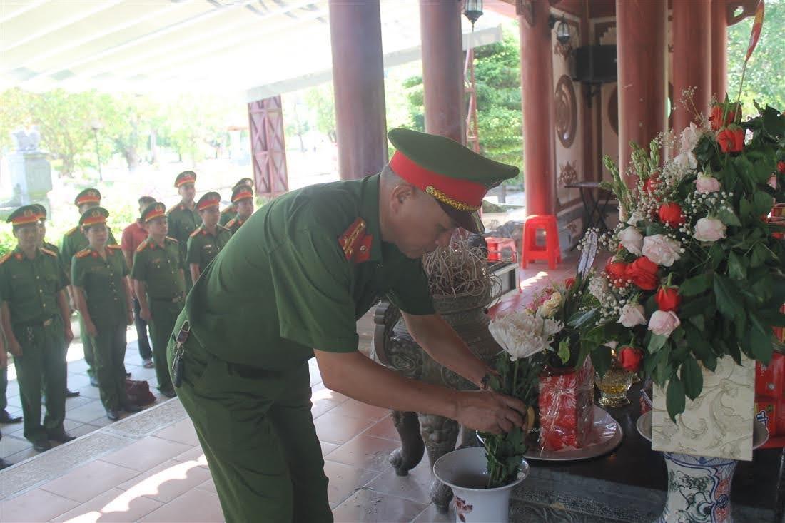 Đại tá Phạm Hoài Nam, Trưởng phòng dâng hương tại khu di tích lịch sử Quốc gia Truông Bồn