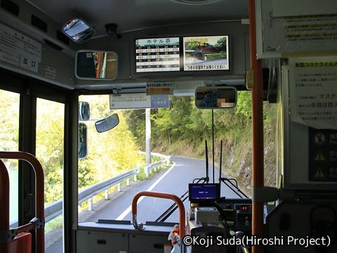 奈良交通「八木新宮線」 ・938 新宮駅→十津川温泉_09