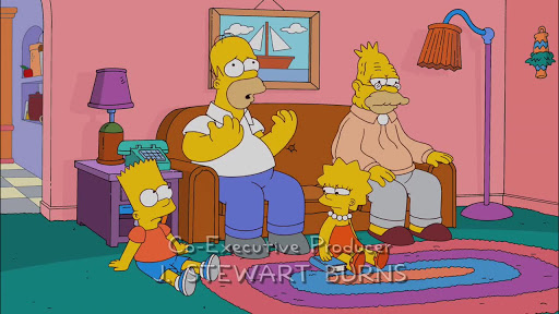 Los Simpsons 22x16 Lindos sueños de verano
