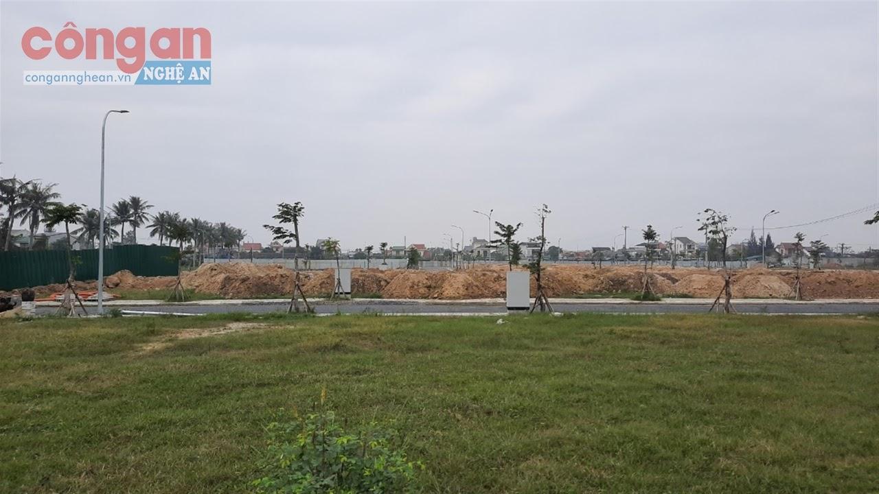 Dù chưa xử lý xong điểm tồn dư thuốc BVTV nhưng khu đô thị Sơn Hà đã xây dựng gần hoàn thiện