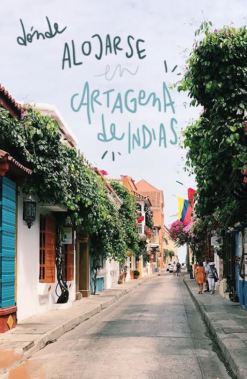 mejores zonas donde dormir en Cartagena de Indias