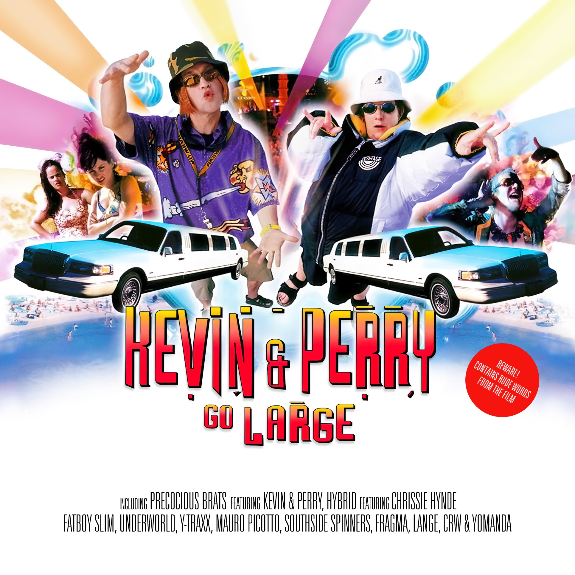 Album Artist: Various Artists (Mixed by Judge Jules) / Album Title: Kevin and Perry Go Large CD 1 (All the Hits from the Film) CD 2 (Kevin & Perry Classic Ibiza Mix) [Customized Album Art]