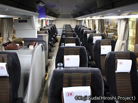 阪急バス「くにびき号」 1168 車内