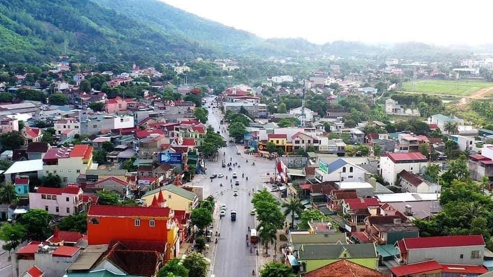 Ngã 6 thị xã trẻ Thái Hòa (nguồn internet)