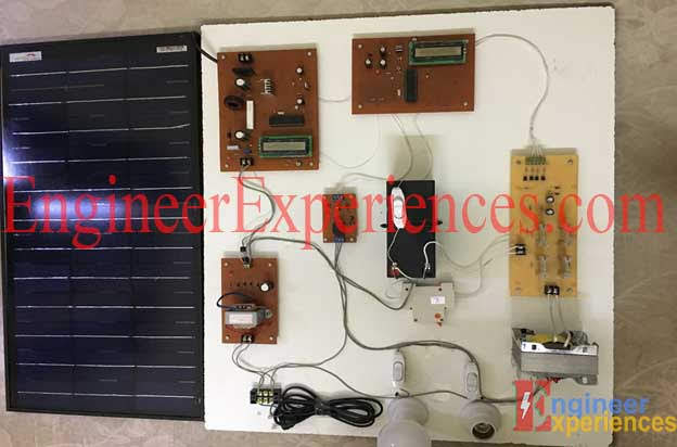 Hardware Setup of solar based Smart Hybrid Inverter (final year project)