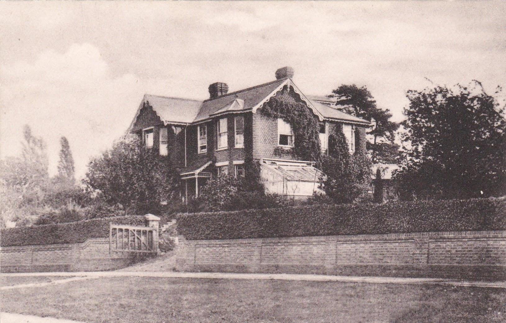 Tenterden Girls School, Beacon Oak House, 1905