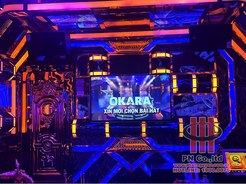 Thi công âm thanh karaoke chuyên nghiệp tại Karaoke Rumba Bình Dương