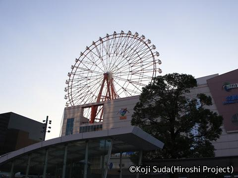 西鉄「桜島号」 3137 JR鹿児島中央駅_02