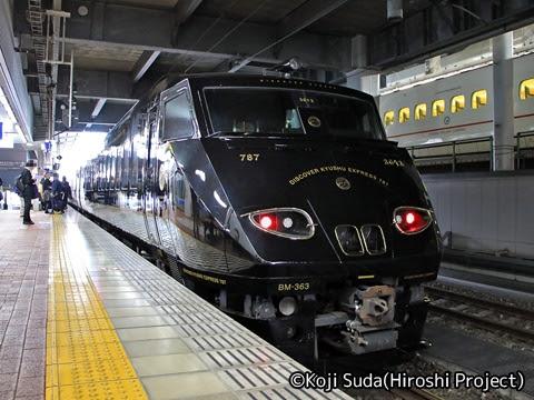 JR九州 787系「36ぷらす3」 博多駅_01