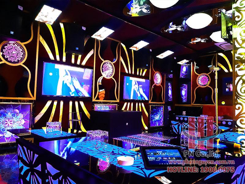 Phan Nguyễn Audio thi công thiết bị âm thanh chuyên nghiệp tại Karaoke Thiên Trang - Gò Vấp