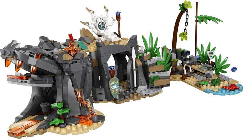 Contenido de Lego® 71747 Aldea de los Guardianes