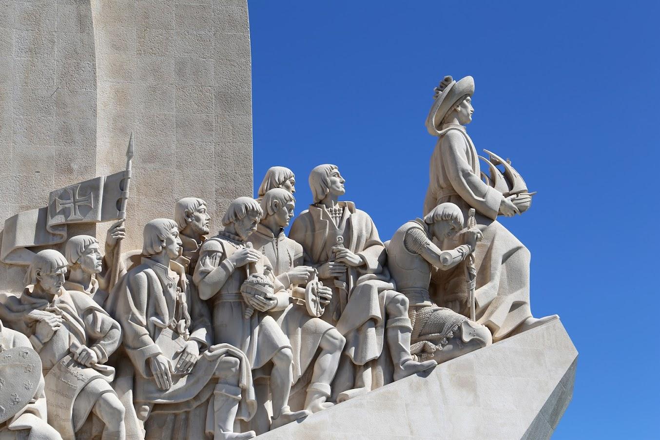 Monumento a los descubridores Lisboa