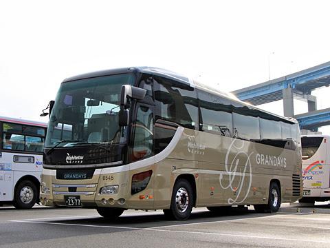 西鉄観光バス「GRANDAYS」 8545