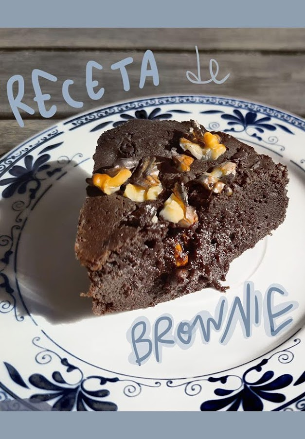 receta brownie chocolate