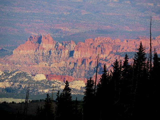 Cliffs near upper Long Canyon