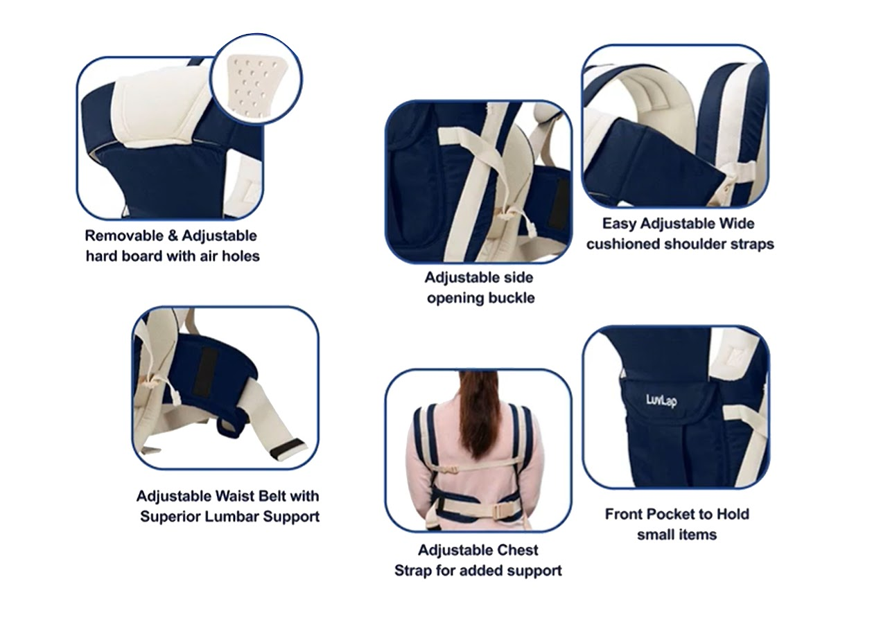 Baby Hip Seat Carrier Position