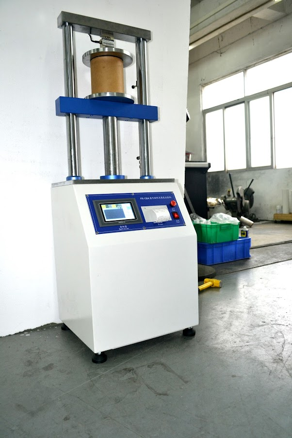 Compression Tester for Paper Cones, Tubes & Cores DIN ISO 11093-9