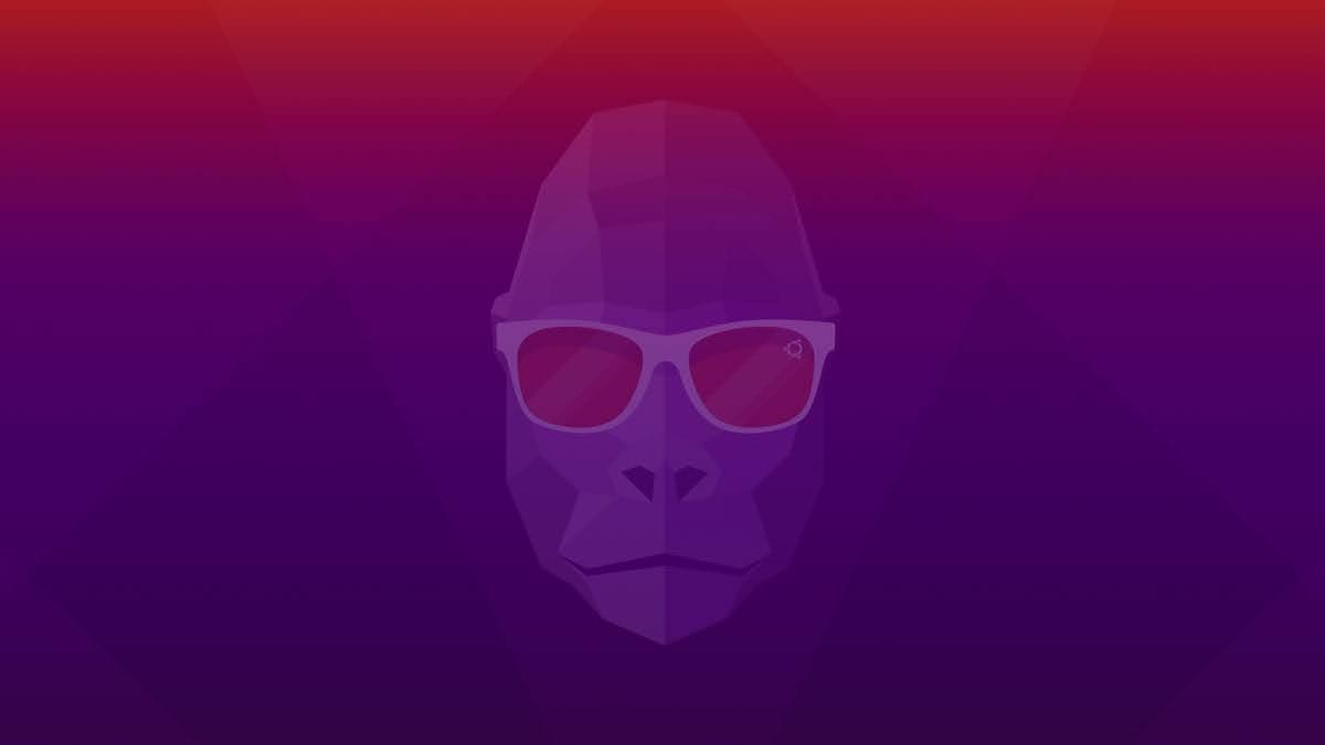 Wallpaper of Ubuntu 20.10 Groovy Gorilla