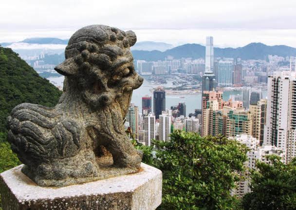 Lion's Pavilion at Peak Tower
