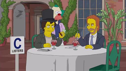 Los Simpsons 30x14 El Payaso se Queda en la Película