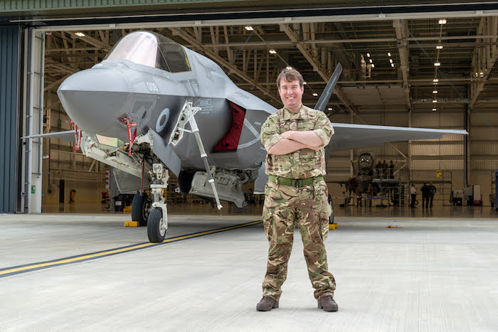 MP sees the work of RAF at first hand