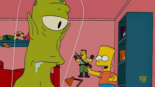 Los Simpsons 19x05 Especial de noche de brujas XVIII