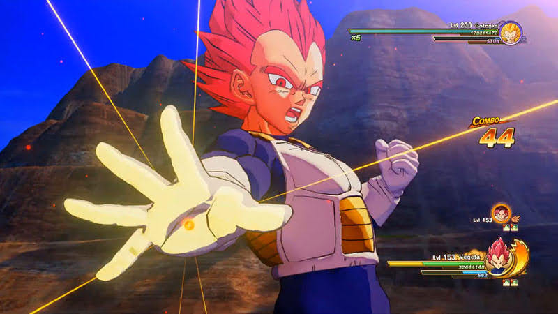 Bản Download Content 1 giúp Vegeta lên Super Saiyan God.