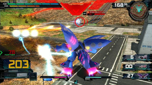 キュベレイMk-II(プル・ニュータイプ能力) 前特殊格闘→特殊射撃