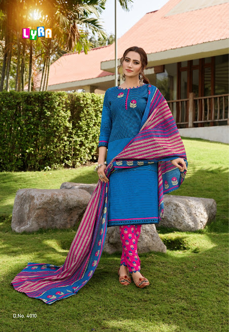 Buy Sc Lyra Vol 4 Cotton Suits Catalog Online Wholesaler Low