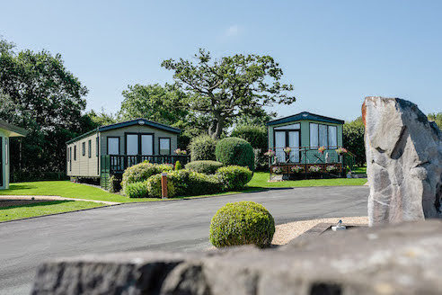 Local demand for caravan holiday homes