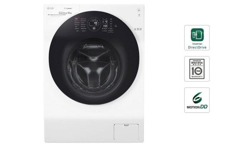 cửa máy giặt lồng ngang luôn mở giúp lưu thông không khí bên trong lồng giặt