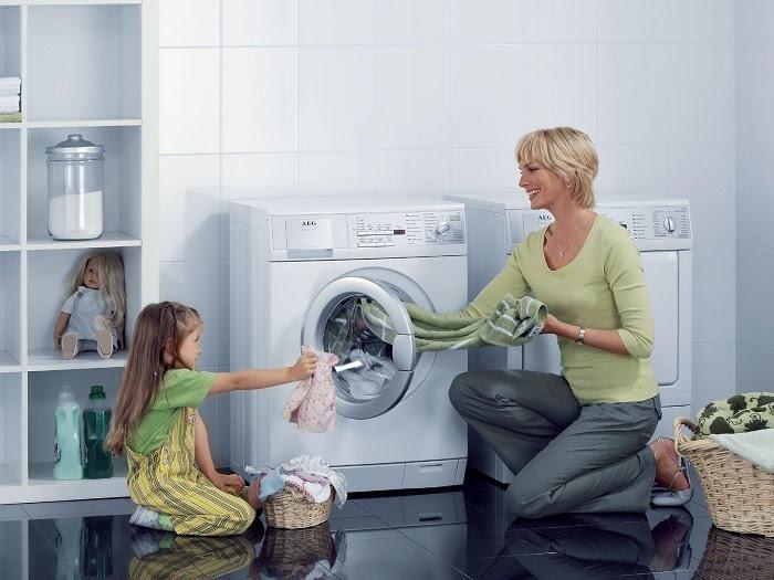 Nên vệ sinh định kỳ máy giặt cửa trước tại nhà 2-3/ tháng