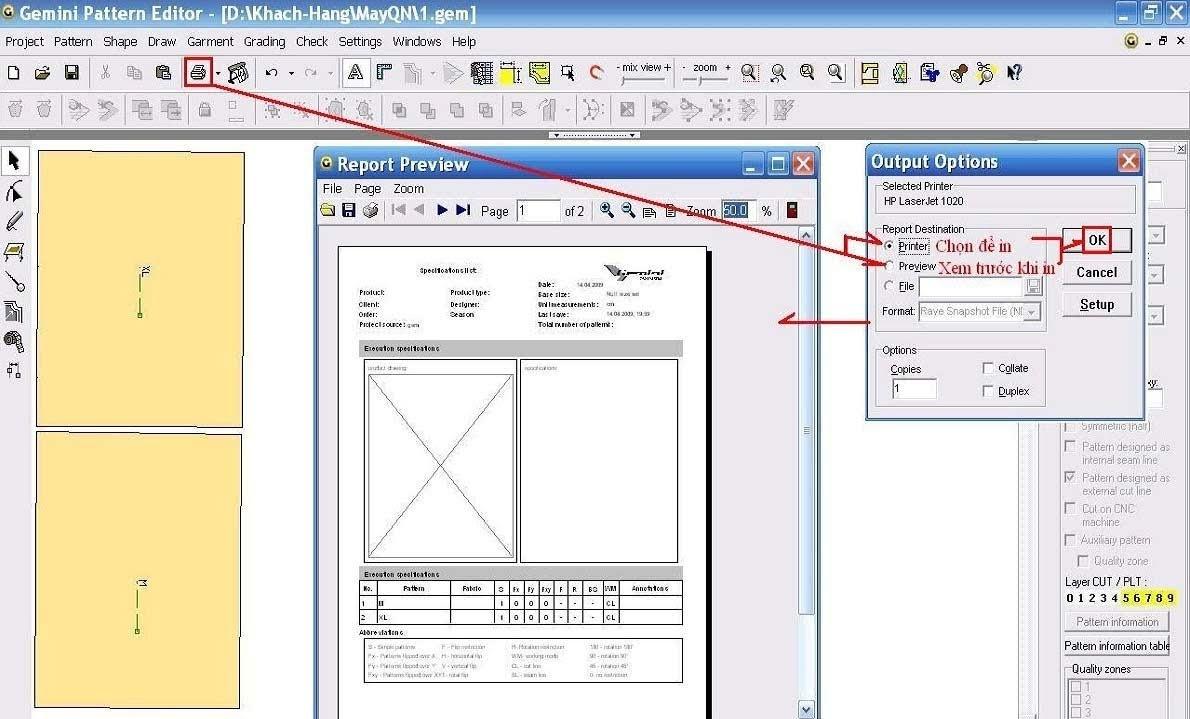 Gemini Pattern Editor Chức Năng Các Lệnh - Phần 1 11