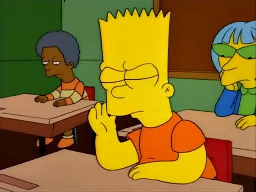 Los Simpsons 5x12 Bart se hace famoso